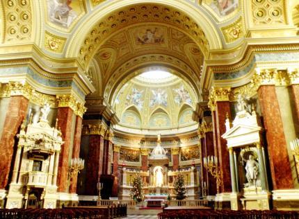 Budapešť Interiér Baziliky sv. Štefana8.jpg