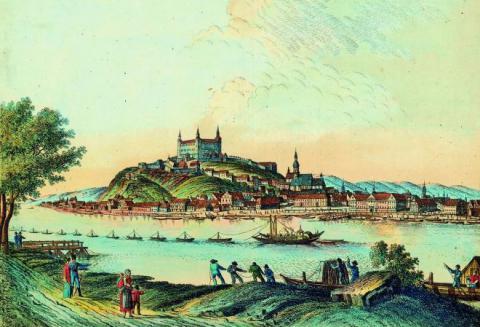 5_panorama_bratislavy_s_hradom_a_prilahlym_novym_palacom_sidlom_uhorskeho_miestodrzitela_na_dunaji_tzv._lietajuci_most._prvy_pevny_posatavili_az_v_roku_1898_pomen.jpg